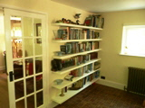 fitted wall shelves