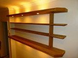 Oak Floating Shelves